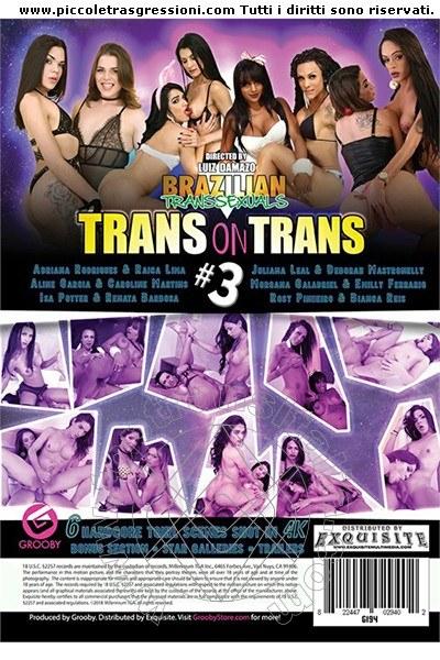 Foto frontale della copertina del film di Isa Potter trans Torino