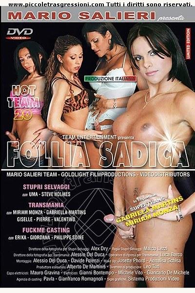 Foto frontale della copertina del film di Gabriela Martins Pornostar trans Conegliano